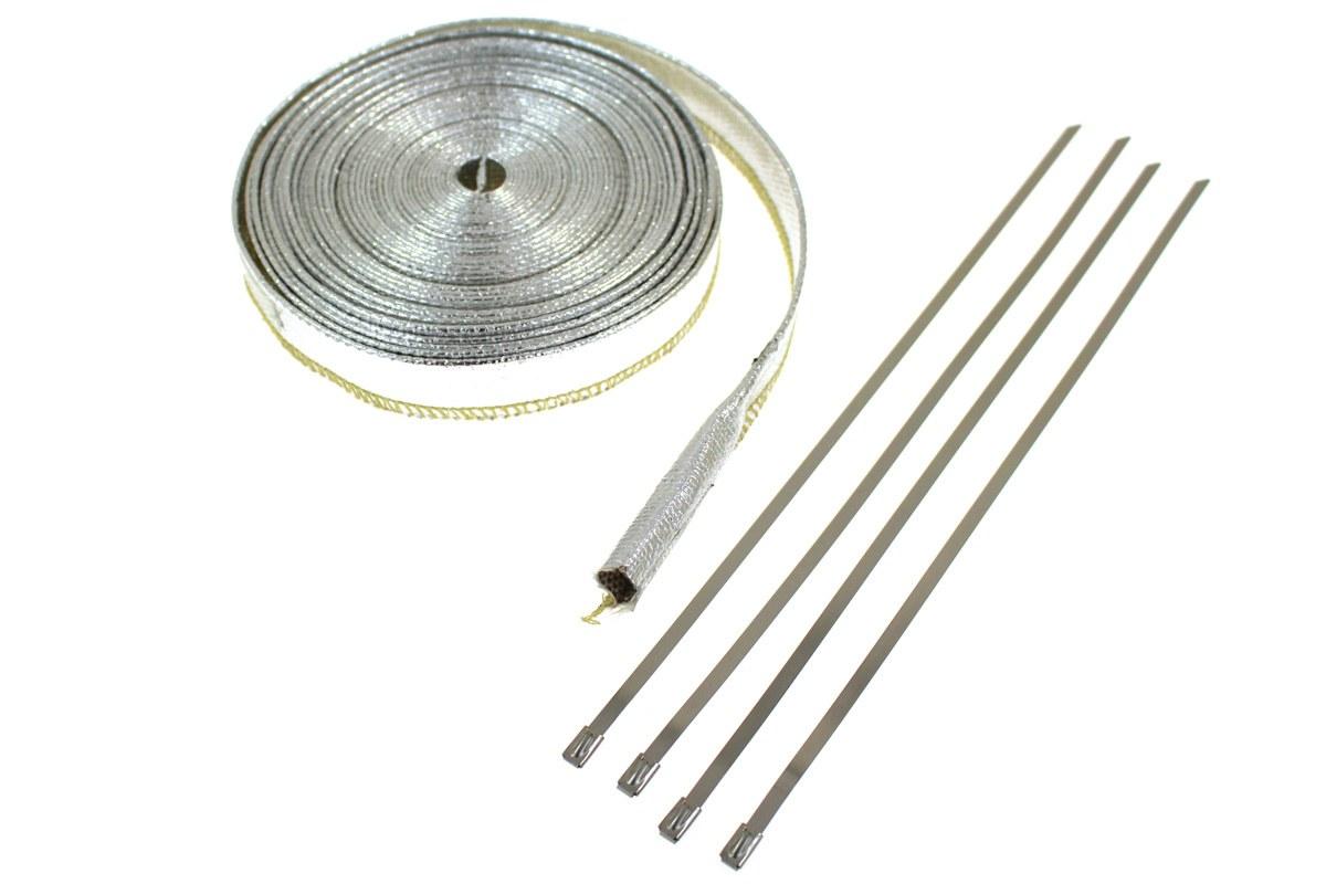 Osłona Termiczna przewodów 12mm 10m - GRUBYGARAGE - Sklep Tuningowy